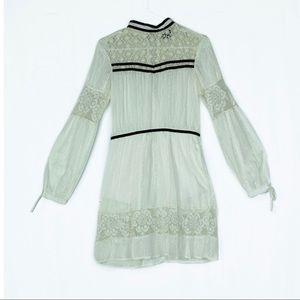 Victorian Lace Short Dress